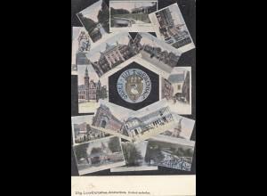 Niederlande: 1906: Ansichtskarte Gravenhage nach Coburg