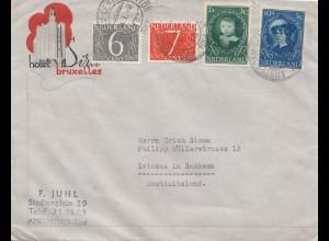 Niederlande: 1958: Amsterdam nach Zwickau