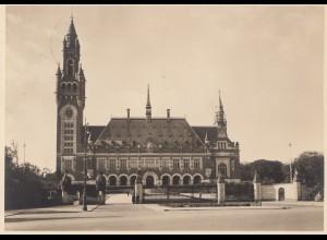 Niederlande: 1916: Ganzsache S'-Gravenhage mit Ansichtskarte