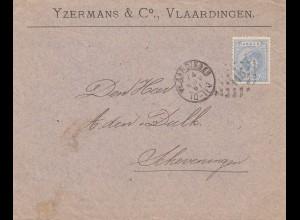 Niederlande: 1891: Vlaardingen nach Scheverningen
