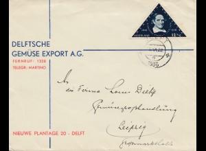 Niederlande: 1936: Delft nach Leipzig