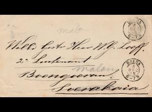 Niederlande: 1895: Breda nach Soerabaja