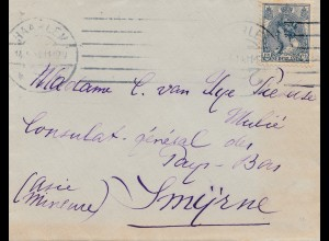 Niederlande: 3x Briefe nach Singapore