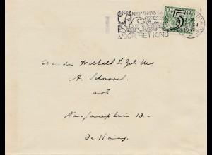 Niederlande: 1940: Voor hed Kind - Perfin