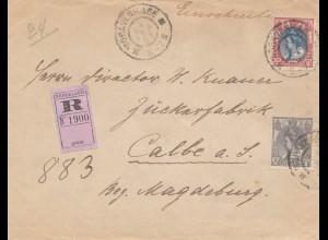 Niederlande: 1906: Einschreiben Den Haag nach Magdeburg