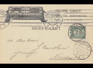 Niederlande: 1907: Amsterdam nach Veendam