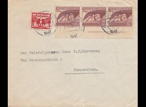 Niederlande: 1947: Schiedam nach Bennebroek
