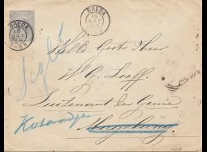 Niederlande: 1898 Breda nach Magdeburg
