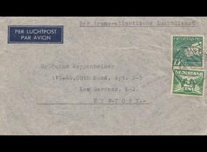 Niederlande: 1940 Amsterdam nach USA - Luftpost