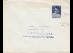 Niederlande: 1958: Middelburg nach Leipzig