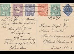 Niederlande: 1923: FDC Haarlem nach Berlin