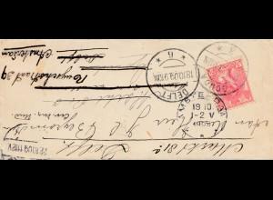 Niederlande: 1909: Gouda nach Delft-Amsterdam