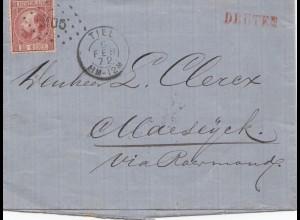 Niederlande: 1872: Tiel Brief