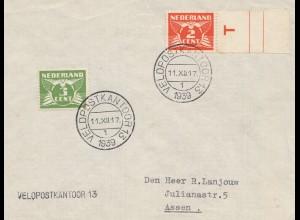 Niederlande: 1939: Veldpostkantoor 13 nach Assen