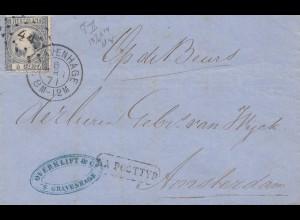 Niederlande: 1871: Gravenhage nach Amsterdam