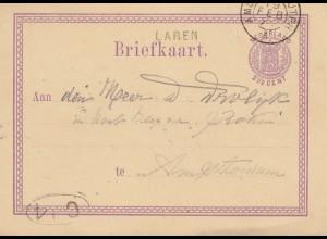 Niederlande: 187x Ganzsache - Briefkaart nach Amsterdam
