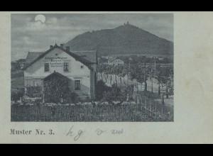Niederlande: 1903: Levelezö Lap: Middel Burg nach Sneek - Ansichtskarte