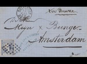Niederlande: 1872: Rotterdam nach Amsterdam