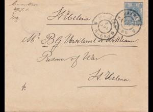 Niederlande: 1901: Haarlem nach St. Helena
