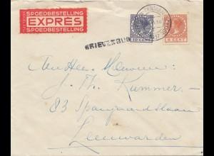Niederlande: 1937: Amsterdam Express nach Leeuwarden