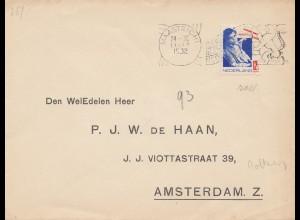 Niederlande: 1932: Maastricht nach Amsterdam, EF