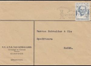 Niederlande: 1946: Eindhoven nach Basel