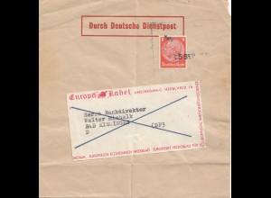 Niederlande: 193x Amsterdam nach Bad Kissingen - Hindenburg Marke