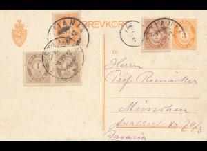 Norwegen: 1912: Stianta nach München