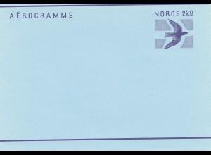Norwegen: Aerogramme - Norge 2,20: LF 28