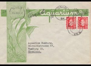Norwegen: 1951: Oslo nach Hamburg