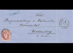 Österreich: 1869: Wien nach Vordernberg