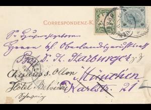 Österreich: 1909: Ansichtskarte Traunkirchen