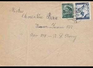 Österreich: 1936 Brief aus Wien