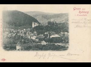 Österreich: 1903: Ansichtskarte Rehberg