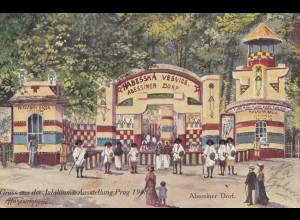 Österreich: 1908: Ansichtskarte Prag nach Pardubice