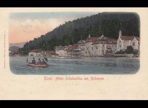 Österreich: 1907: Ansichtskartet Tirol nach Eisenberg