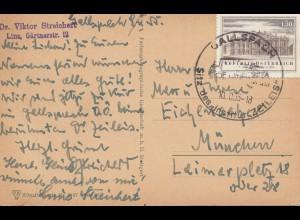 Österreich: 1955: Gallspach /Linz nach Müchen