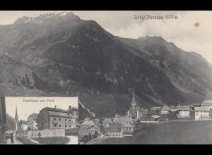 Österreich: 1913: Ansichtskarte Ischgl nach Innsbruck