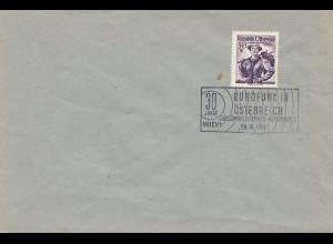 Österreich: 1954: Rundfunk in Österreich - Wien