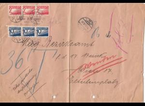 Österreich: 1932 Wien Ortsbrief