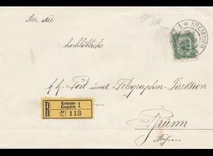 Österreich: 1905: Einscheiben Kremsler nach Brünn