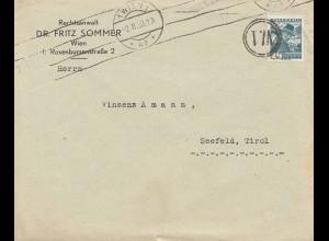 Österreich: 1938: Wien nach Seefeld