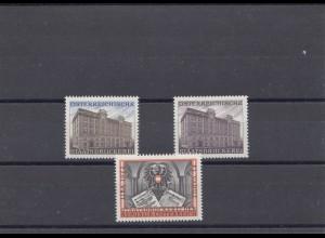 Österreich: Österreichische Staatsdruckere und Vaduz/Liba 1972