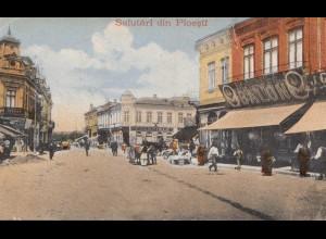 Österreich: 1918: Ansichtskarte Salutäri din Ploesti, KuK, Feldspital