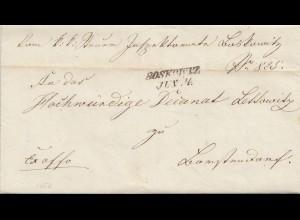 Österreich: 1852: Boskowiz,