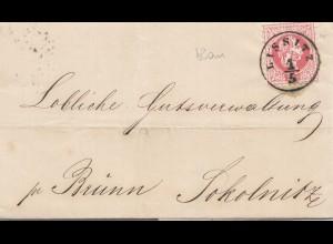 Österreich: 1871: Lissitz in Mähren /Schrauben Fabrik, nach Brünn