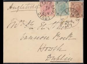 Österreich: 1892: Karlsbad nach Dublin