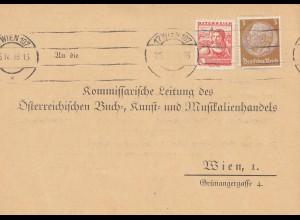 Österreich: 1933: Wien an Buch- und Musikhandel