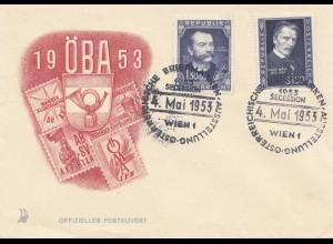 Österreich: 1953 OBA Wien