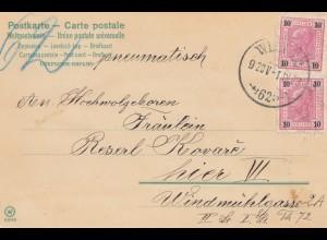 Österreich: 1903: Wien - Glückwunsch Karte